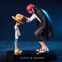 2019 новое аниме одно кусок четыре императора хвостовики соломенная шляпа луффи ПВХ действий фигурка кукла детская пуховая коллекционная модель игрушка фигурка C0220