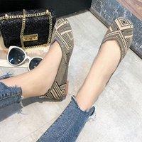 Tuch Schuhe Frauen 2020 Frühling Neue Mode Komfortable Große Größe Wild Flache Boden Ein Pedal Schwangere Schwangere Schuhe Bequeme Schuhe dis e5dj #