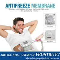 2019 Membranas anticongelantes Freezing Fat Anti Cooling Gel Pad AntiCreeze Membrana para la crioterapia Fallo congelación Fresco Tratamiento DHL gratis