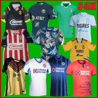 LIGA MX 2122 Club America Cruz Azul Soccer Jerseys 21 22 Mexique Léon Unam Troisième Uanl Tigres Chivas Guadalajara 115 ans Chemises de football Léon S-5XL