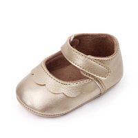 Детские туфли Детские девушки обувь 0-12 м Принцесса Младенческая обувь Мокасины Мягкие новорожденные Первый Уокер Обувь Обувь Обувь новорожденного B3873