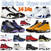 Mais novo 14 altos 14s sapatos de basquete ginásio vermelho turbo hyper real black toe doernbecher multi-cor candy cana deserto teed mens esportes sapatilhas