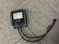 IP66 10W High Power LED WS2811 gesteuertes RGB-Flutlicht adressiert mit 3 Core Black Xconnect Pigtail