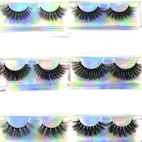 False Eyelashes 3 Pairs 100% Real Full Strip Lashes Crulty FREE 25mm-30mm Comfortable Soft Cotton Band 3D