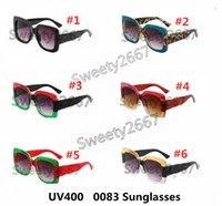 Stil Popüler Koruma Çerçeve UV Marka Tam 0083s Kare Ile Yaz Yaz En Kaliteli Kadın Güneş Gözlüğü Karışık Renk Tasarımcı Luxur Jess