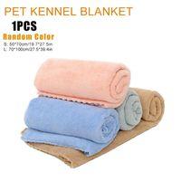 Cat Beds & Furniture Cute Pet Soft Blanket Dog Mat Winter Bed Quilt Autumn Warm Blanke Sleeping Cover