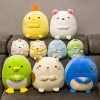 30cm 귀여운 봉제 동물 Sumikko 구라시 박제 장난감 San-X 모서리 베개 만화 플러시 베어 고양이 펭귄 선물 장난감 어린이 소녀