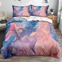 Bedding Sets 3D Modern Marble Quilt Cover Set Comforter Covers Pillowcase 3-Piece Duvet Bed Linen Queen 150x200 Bedspreads