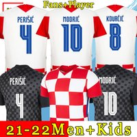 MIDRIC 2021 2022 المنتخب الوطني ماندزوكيك المنزل orsic لكرة القدم جيرسي perisic rakitic srna kovacic brozovic rebuic قمصان القمصان الكبار الرجال + أطفال عدة