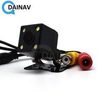 Araba Dikiz Kameralar Park Sensörleri Arka Görüş Kamerası AV Arabirimi Ile 170 Geniş Açılı Ultra Yüksek Çözünürlüklü Gece Görüş Su Geçirmez Rever