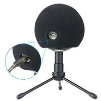 1 Pc Foam Cover Artificial Fur Mic Windscreen Muff for Blue Snowball Microphone 13.5+11.5+7.5cm