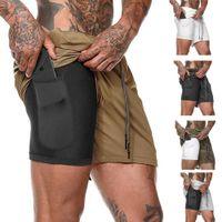 Swagwhat Beach Shorts Мужчины дизайна лайнер быстрые сушки бегущие повседневные короткие штаны мужские дышащие тренировочные шорты тренажерный зал пробежки C0222