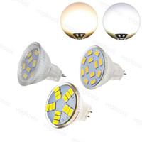 LED Bulb SMD5730 9LED 12LED 15LED Quartz Glass DC12V MR11 Indoor Lamp 80Ra For Crystal Chandeliers Pendant Floor Lights EUB