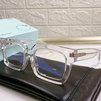 Occhiali da Sohle Firmati von Sonnenbrillen OW 40001U MODA UOMO E DONNA Casual All Match Nero Full-Frame Lenti Unisex UV400 di Alta Qualità con Scatola Originale