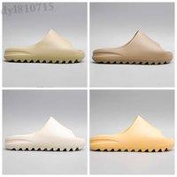 2022 Slide Sandals slippers Shoes For Men Women Original Desert Triple Black Bone White Kanye Foam Runner Casual Size 36-45 SF08