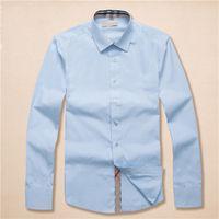 유럽 럭셔리 패션 남성 공식 셔츠 골드 플로랄 프린트 코튼 실크 슬림 셔츠 의류