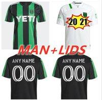 2021 2022 Cecilio Austin FC Soccer Jerseys Anel Besler Fagundez Home Kit Away 21 22 Homens Crianças Camisas de Futebol Camisetas Fútbol Maillot de pé