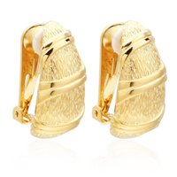 VAROLE Special Clip-on Screw Back Earrings For Women Gold Color Without Piercing Ear Cuff Fashion Jewelry Gift Pendientes Mujer