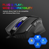 Mice Wired Gaming Mouse 10 12 Buttons 7 Gears 7200Dpi Adjustable Programmable RGB Lighting Ergonomics Optical Gamer For PC