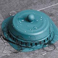 다른 목욕 화장실 용품 홈 싱크 실리카 젤 필터 욕실 샤워 플로어 드레인 커버 범용 방지 헤어 막힘 방취 ki