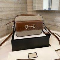 Luxurys Designer Rabatt gedruckt 1955 Vintage Umhängetaschen Mode Tasche Handtaschen Hohe Qualität Frauen 2021 Beste Kameratasche Crossbody Taschen