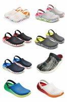 2021 летняя пара пляжные отверстия обувь облегченная мода полые сандалии мужские тапочки для мужчин Baotou Eva
