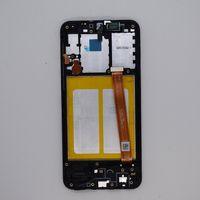 Pantalla OEM para Samsung Galaxy A10E A102 Paneles táctiles Touch Digitalizador Reemplazo de ensamblaje con marco