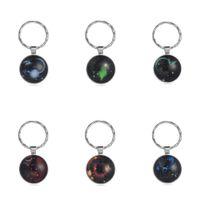 Fashion Popular Kids Boys Girls Constellation Key Chain Children's Trendy Students Bag Key Ring Mini Portable Keyrings Pandents Gifts Accessories G72OKU9
