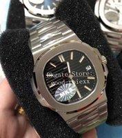 Erkekler için Saatler Kristal Siyah Mavi Beyaz Kahverengi İzle Erkek Miyota 9015 Otomatik Cal.324 Çelik MKS Fabrika 5711 ETA 40mm Tarih Saatı