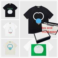 21ss Новые Горячие Летние Мужчины Женщины Стилистные футболки с Письмом Напечатанные Повседневная Мужская футболка Высочайшее Качество Мужчины Повседневная Треневая Одежда Одежда