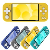 High quality X20 Mini Portable Game players 4.3 Inch Handheld Game Consoles Dual Joystick Preloaded Multi Free Games for kids