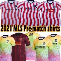 2021 Love UnitesサッカージャージMLS DC Inter Miami La Galaxy Atlanta Nashville Los Angelesプリマッチシャツオーランドシアトルサンドユーザーニューシティヨークサッカーシャツ