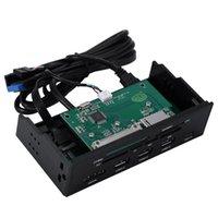 Almofadas de refrigeração de laptop Reader de cartão interno Mídia Multi-Função Dashboard PC Painel frontal Tipo-C USB 3.1 3.0 Support CF