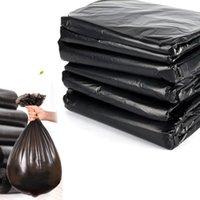 (A181-03K) Siyah Plastik Atık Torba Çöp Torbaları Çöp Çantası Tek Kullanımlık Ev 43x45 cm 100 adet