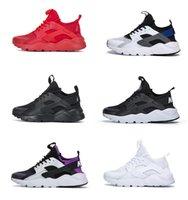 2021 Indirim Havalar Huarache 1.0 4.0 Erkekler Koşu Ayakkabıları Ucuz Şerit Kırmızı Balck Beyaz Gül Altın Huaraches Kadınlar Eğitmen Nefes Tasarımcı Sneakers
