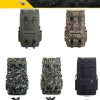 110L Große Kapazität Mann Armee Taktische Rucksäcke Angriffs-Taschen Outdoor-Sport-Wandern Camping-Tasche Reise-Rucksack Rucksack 139 x2