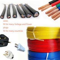 (A598 / 11) Kopparkabel för elektrisk svetsmaskin 25-120mm² Hemledningar 1,5-16mm²
