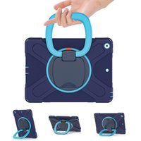 Portable case Extreme Heavy Duty 360° rotation silicone shockproof tablet for ipad mini 4 5 IPAD7 10.2 9.7 AIR 2 T510 T870 T500 P610 T290 t295 kids cover