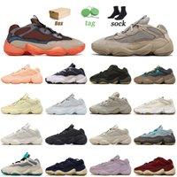 Con caja 2021 Zapatillas deportivas 500 de calidad superior Taupe Light Enflame Soft Vision Utility Black Blush Zapatillas de deporte para mujer para hombre Zapatillas de deporte