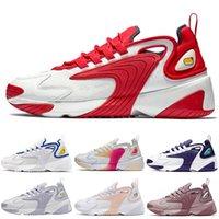 2021 uomo donna scarpe da corsa m2k tekno zoom triplo nero bianco rosso rosa grigio giagning jogging chaussures all'aperto mens da donna formatori scarpe da ginnastica sportive dimensioni EUR 36-45