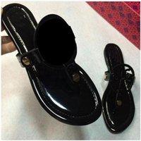 Vendita calda-europee clip punta piatta sandali femminili tutte le scarpe grandi cantieri Punto da 35 a 42