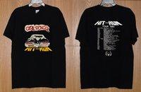 남성용 T 셔츠 VTG 80S 여자 아이들이 히트 앤 투어 셔츠 유다 Krokus Metal Reprint 희귀 T 셔츠 남자 의류 탑 티