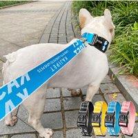 Moda Cão Coleira Coleira Para Cães Animais De Estimação Cão Cinto De Segurança Cinto De Segurança Pet Coleira Para Cães Médios Pequenos Grandes Cães Líderes Pescoço: S: 26cm-37cm