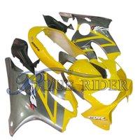 Motobike Fairings Bodyworks Kits For HONDA CBR600 F4i 2004-2007 2004 2005 2006 2007 Black Red Bodywork Fairing Kits + Tank Cover Injection Mold