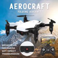 LF606 wifi fpv rc أضعاف طائرة بدون طيار quadcopter مع 0.3mp 2.0mp كاميرا 360 درجة تناوب الطائرات الطائرات في الهواء الطلق dhl