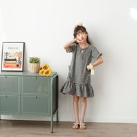New Fashion Spring Children Dress 2021 Costomes Short Sleeve...