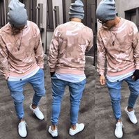 Men's Jeans Fashion Sell Stretchy Ripped Skinny Biker Destroyed Slim Fit Denim Harem Pants Men Jogger Clothes YPLD