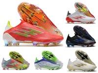 2021 x SpeedFlow + FG Mens Slip-on Futebol Sapatos de Futebol Messi Whitepark Escape Luz Redcore Blacksolar Vermelho Veleira de Meteorito + X Pacote Botas Botas Greats Size 6.5-11