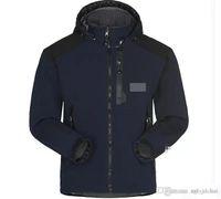 Горячие Продажи 2021 Лицо North Mens Дизайнер Зимнее Пальто Повседневная Сплошная Цветная Куртка Спортивная Ветровка с капюшоном Теплое пальто Азиатский Размер Бесплатная Доставка