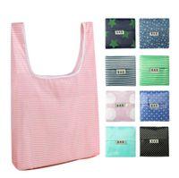 Складные сумки для покупок Многоразовая продуктовая складная сумка для хранения прочный прочный легкий ECO дружелюбный большой модный